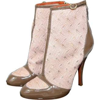 Missoni Cloth ankle boots