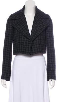 Theory Virgin Wool Open Front Jacket