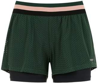 Track & Field mesh running shorts