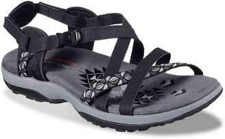 fd2b899e58e9 Skechers Black Heel Strap Women s Sandals - ShopStyle