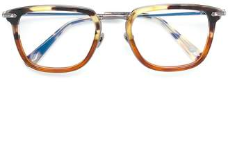 Brioni square frame glasses