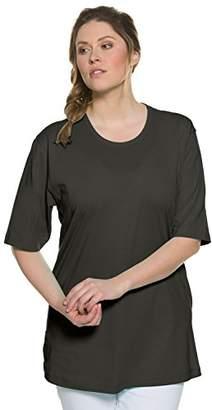 Ulla Popken Women's Rundhals T-Shirt,16