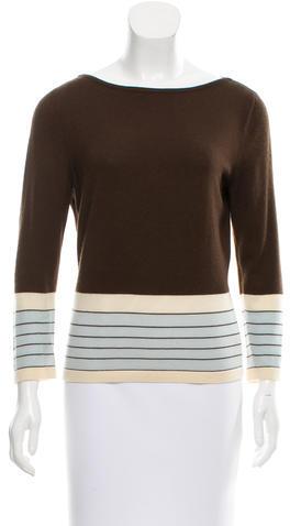 CelineCéline Cashmere Long Sleeve Top