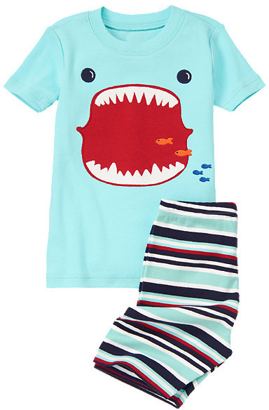 Gymboree Shark Mouth Shortie Two-Piece Gymmies®