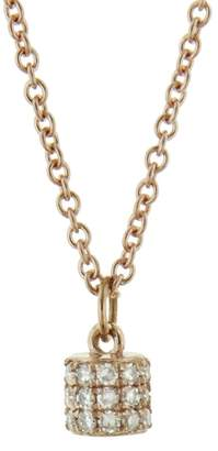 Lee Jones Collection Diamond Fairy Dust Choker Necklace - Rose Gold