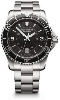 Victorinox Maverick Stainless Steel Bracelet Watch
