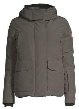 Canada Goose Women's Blakely Hooded Parka - Graphite - Size XS