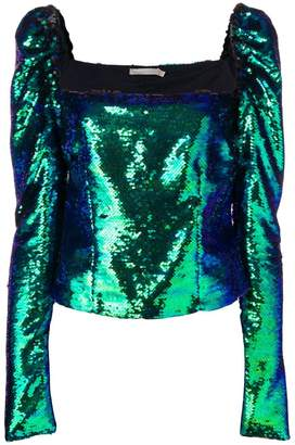 Amen sequin embellished top
