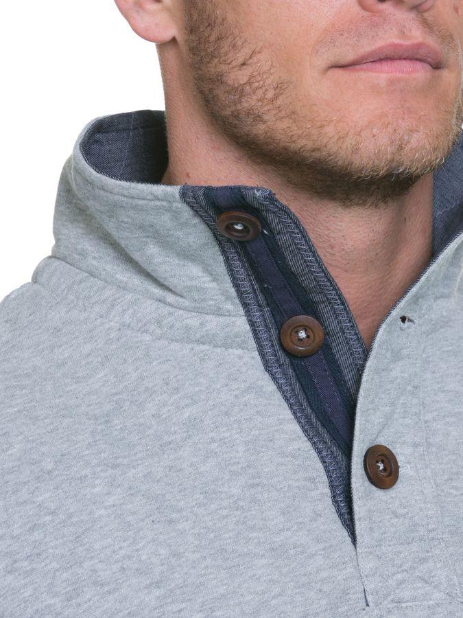 Men's Raging Bull Big & Tall Applique Funnel Neck Sweater