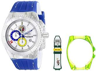 "Technomarine Unisex 114023B Cruise Mexico ""Tribute to Soccer"" Interchangeable Strap Watch Set"
