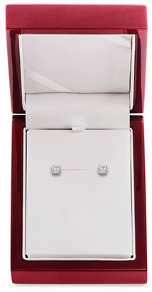 Lord & Taylor Diamond and 14K White Gold Stud Earrings, 0.75 TCW $2,750 thestylecure.com