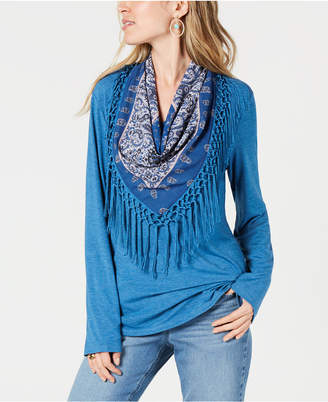 Style&Co. Style & Co Scarf Top, Created for Macy's