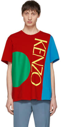 Kenzo Multicolor Square Logo T-Shirt