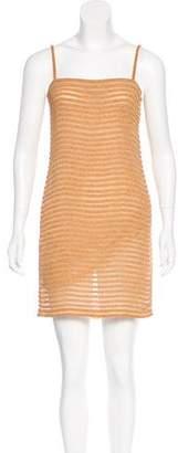 Calvin Klein Collection Beaded Mini Dress