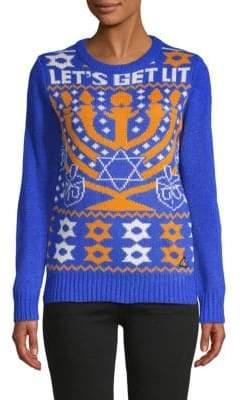 Graphic Crewneck Sweater