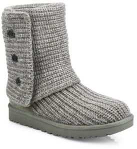 UGG Classic Cardy Knit Boots $150 thestylecure.com