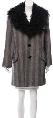 Marc Jacobs Oversize Shearling Coat