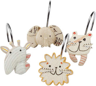 Creative Bath Accessories, Animal Crackers Shower Curtain Hooks Bedding