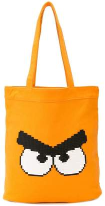 Mostly Heard Rarely Seen 8-Bit Angry tote