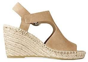 3cab377545d Women's Nolan Cutout Suede Espadrille Wedge Sandals