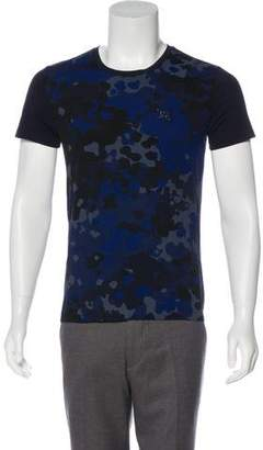 Burberry Camo Knit T-Shirt