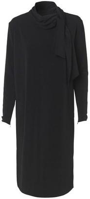 By Malene Birger Guila Neck Tie Dress - Black / M