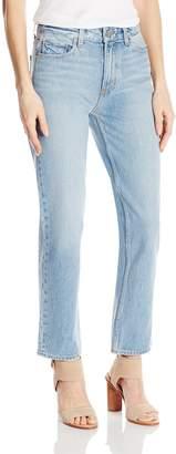 Paige Women's High Rise Sarah Straight Jean