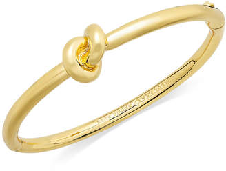 Kate Spade Bracelet, Sailor's Knot Hinge Bangle Bracelet