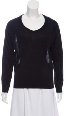 IRO Silk & Wool Blend Long Sleeve Top