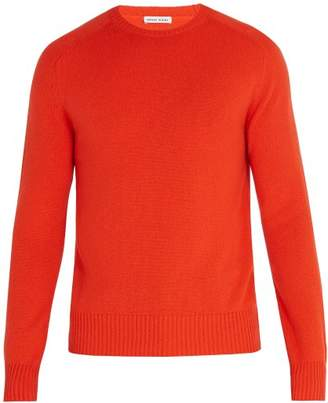 Tomas Maier Cashmere Knitted Sweater - Mens - Coral