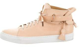 Buscemi Ronnie Fieg x 100mm High-Top Sneakers