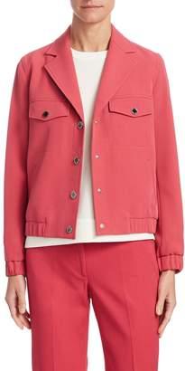 Anne Klein Women's Snap Button Collared Jacket
