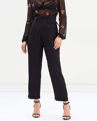 MinkPink Daily High Waisted Trousers