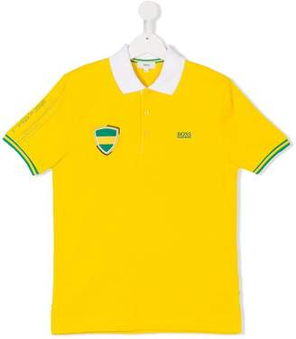 Boss Kids TEEN short sleeve polo shirt