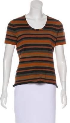 Akris Cashmere Striped Top