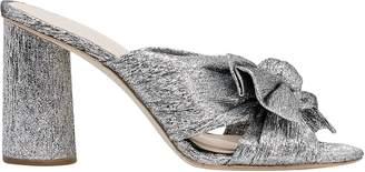 Loeffler Randall Penny Knot Strap Slide Sandals