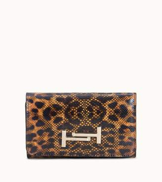 Tod's Tods Purse in Animal-Printed Karung