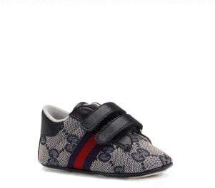 Gucci Baby's Double Strap Ace Sneakers