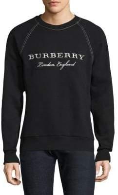 Burberry Taydon Raglan-Sleeve Sweatshirt