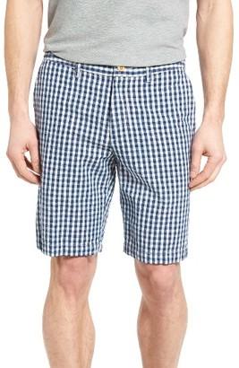 Men's Tommy Bahama Bring'Em Gingham Authentic Fit Shorts $98 thestylecure.com