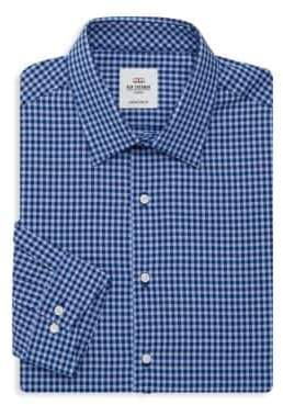 Ben Sherman Tailored Slim-Fit Gingham Dress Shirt