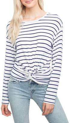 Generation Love Women's Ellery Twisy Long Sleeve Top - Stripe - S