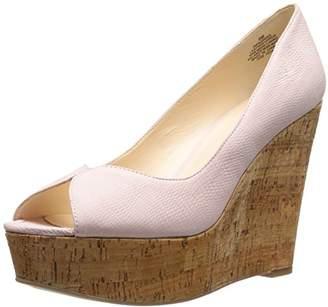 Nine West Women's Audora Nubuck Wedge Sandal