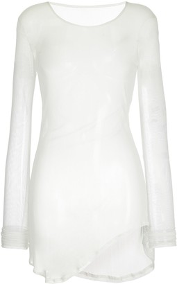 Taylor mesh asymmetric top