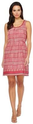 Lucky Brand Geo Print Dress Women's Dress
