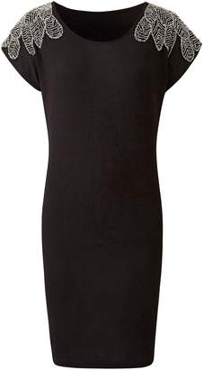 Next Womens Simply Be Embellished Shoulder Tunic