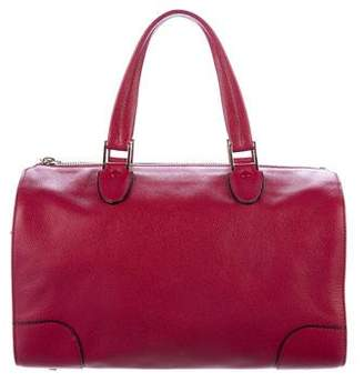 Valextra Leather Milano Bag
