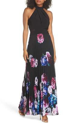 Xscape Evenings Halter Neck Gown