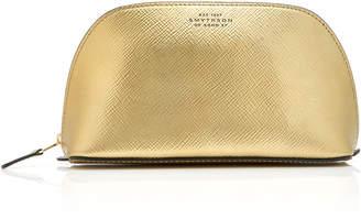 Smythson Panama Leather Cosmetics Case