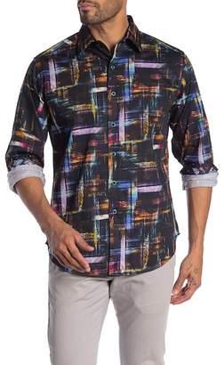 Robert Graham Barrigona Patterned Long Sleeve Classic Fit Shirt